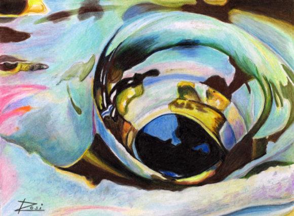 'Alaskan Rainbow Eye' by Rosi Oldenburg