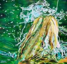 'Pike' by Rosi Oldenburg
