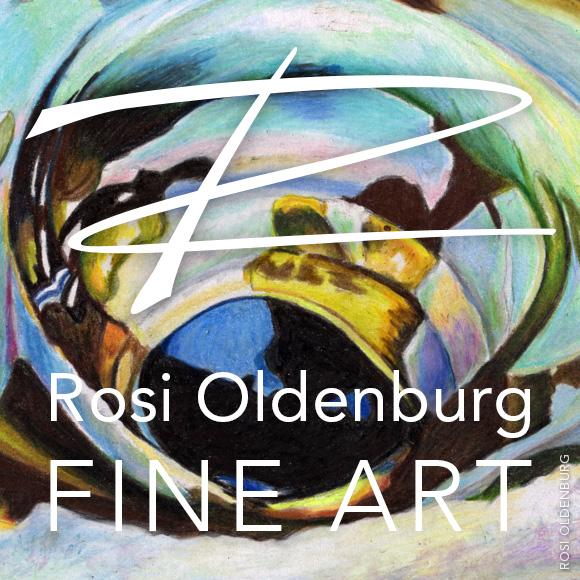 Rosi Oldenburg Fine Art profile image for ROFA page on Facebook
