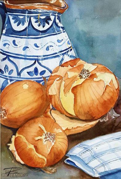 'Fall Feast' by Rosi Oldenburg