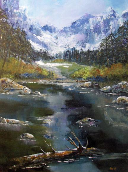 'Mountain Vista' by Rosi Oldenburg