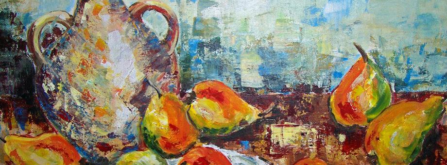Nine Pears