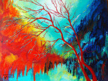 'Red Tree' by Rosio Oldenburg