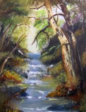 'Shady Falls' by Rosi Oldenburg