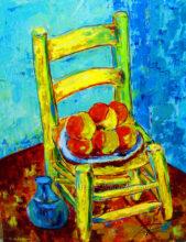 'Van Gogh Chair' by Rosi Oldenburg
