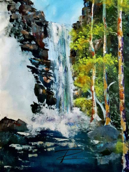'Waterfall' by Rosi Oldenburg